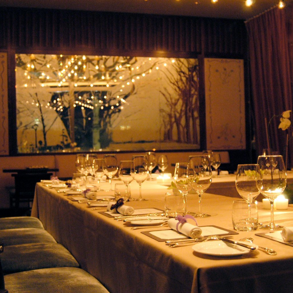 Caf gray studiogronda for Best private dining rooms new york