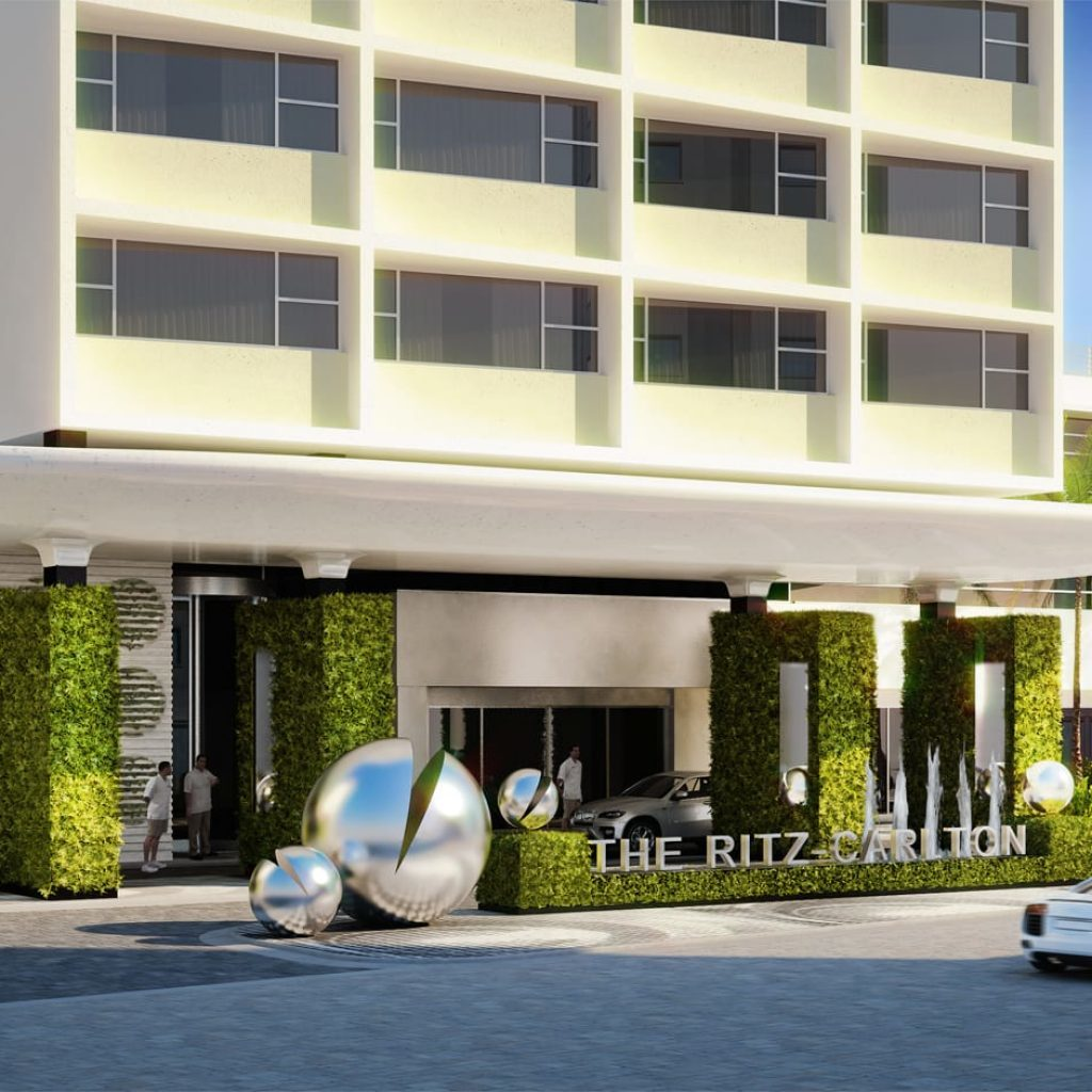 Ritz Carlton South Beach Renovation
